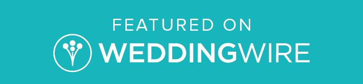 Featured on WeddingWire.com